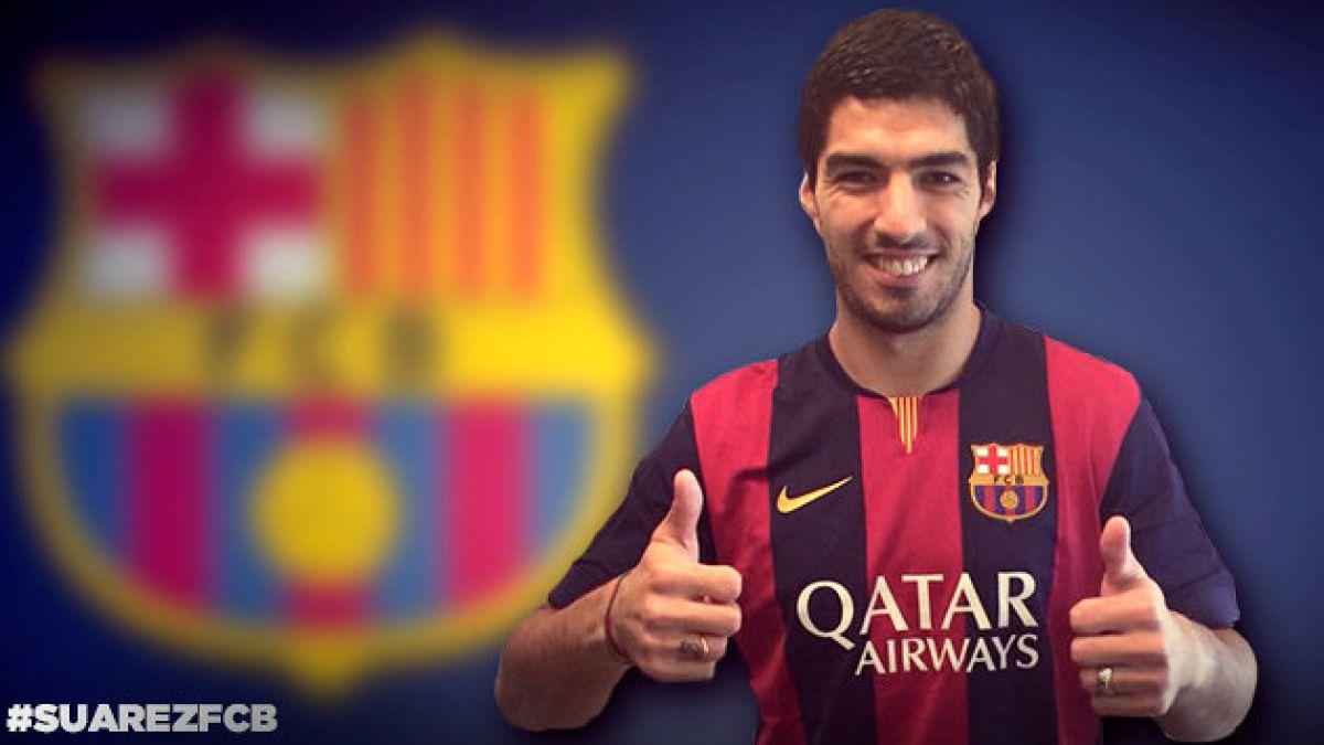 Barcelona oficializa fichaje de Luis Suárez por cinco temporadas