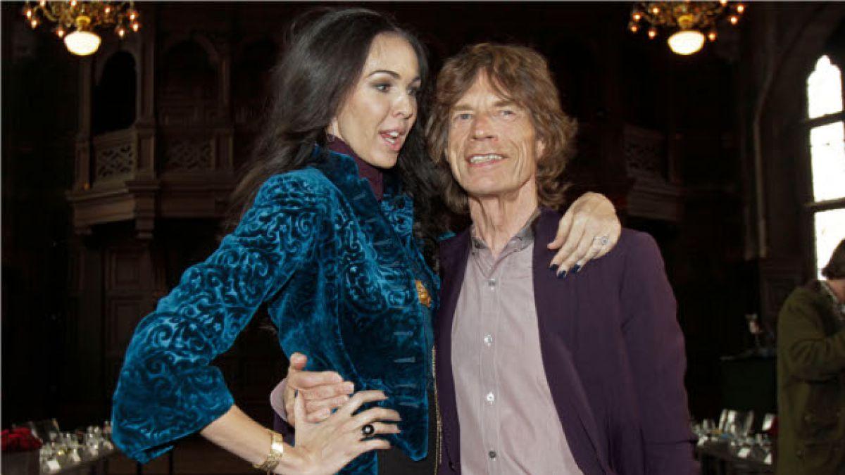 Confirman que novia de Mick Jagger se suicidó