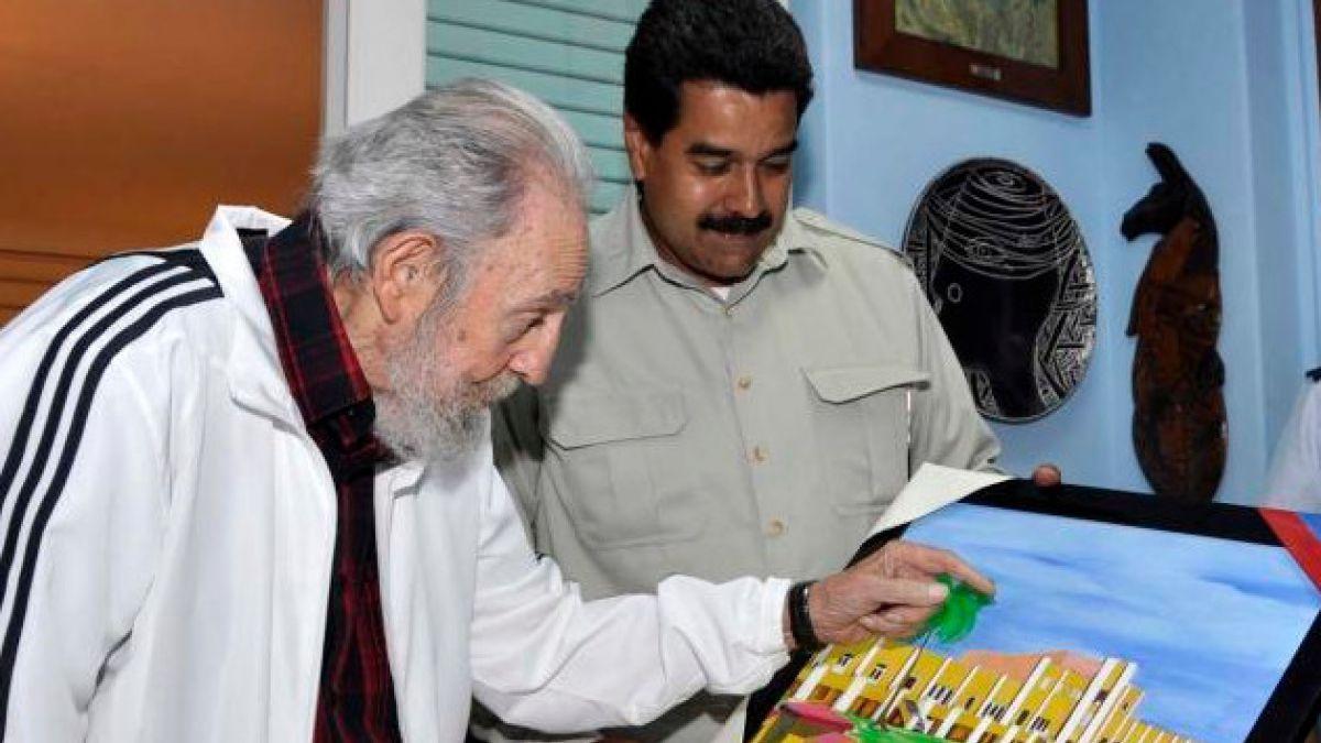 """Nicolás Maduro afirma que Fidel Castro ha llenado """"de luz la historia"""""""