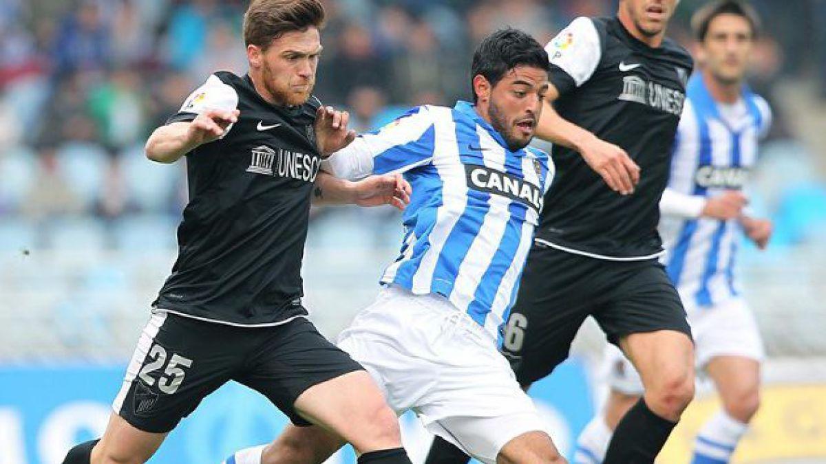 Real Socieda venció por 4-2 al Málaga