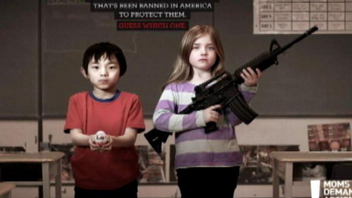 Campaña busca generar conciencia sobre control de armas en EE.UU.