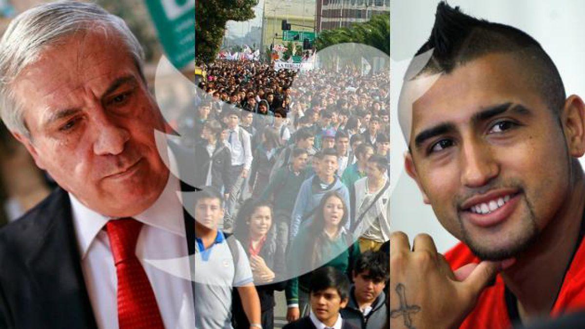 Desde la marcha estudiantil hasta la operación de Vidal: La semana en tuits