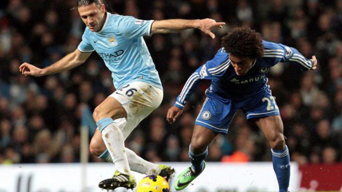 Manchester City de Pellegrini no pudo ante Chelsea de Mourinho