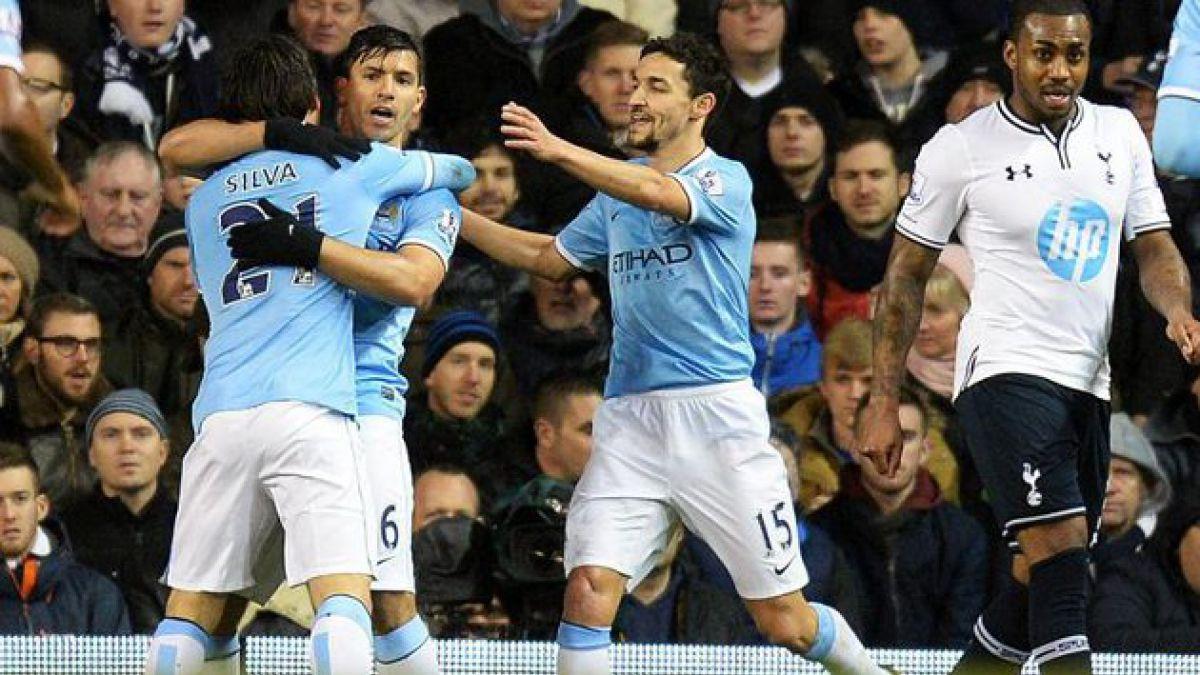 Manchester City de Pellegrini gana y queda como líder de la Premier League