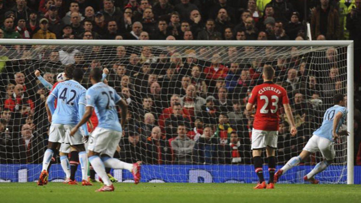 City de Pellegrini derrota al Manchester United en duelo de la Premier League
