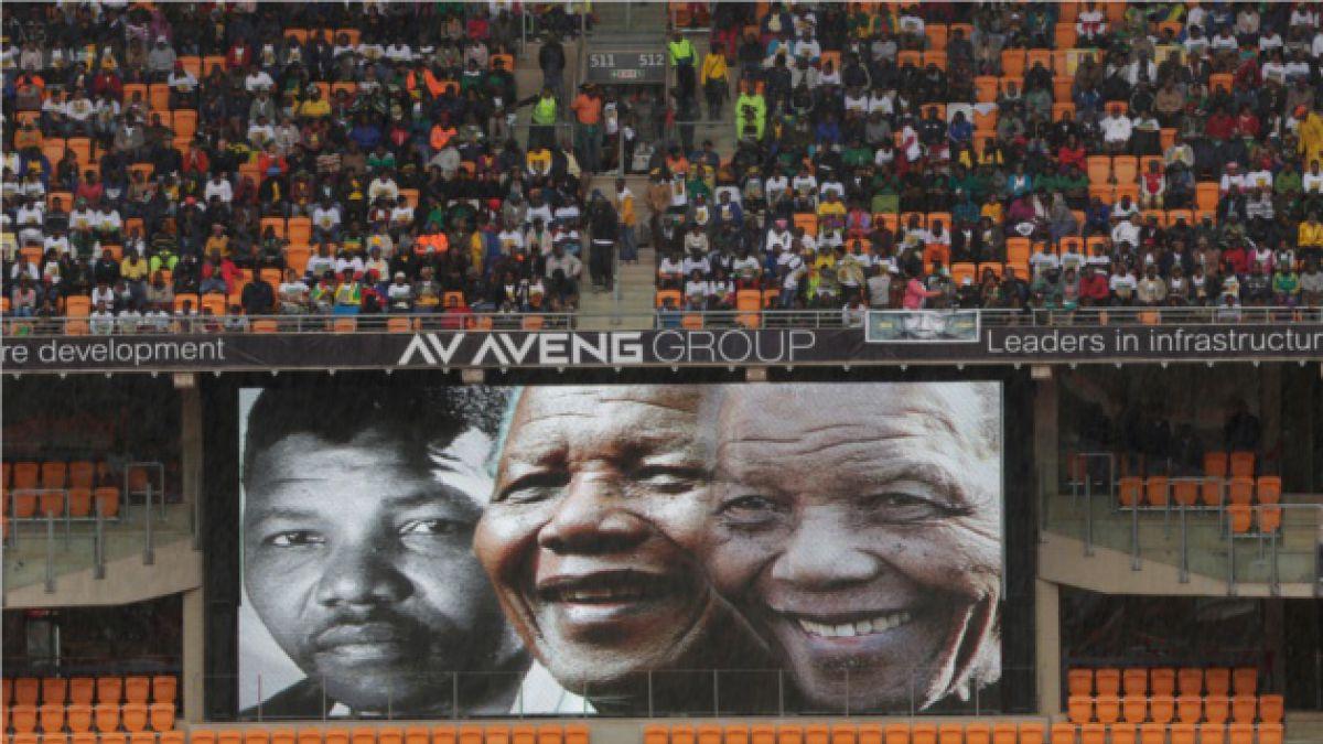 Sigue en vivo el funeral de Nelson Mandela