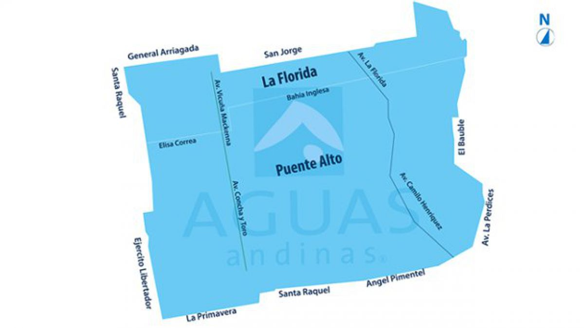 La Florida y Puente Alto sufrirán corte de servicio de agua esta noche