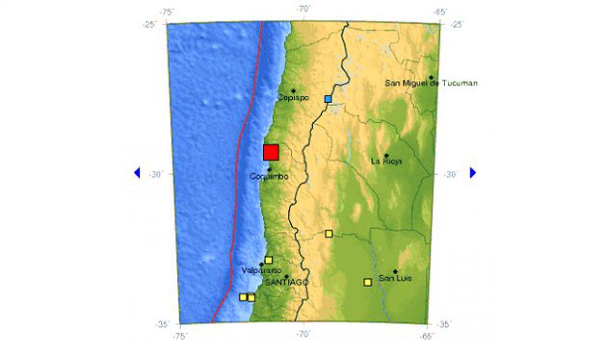 Sismo de mediana intensidad afectó a zona centro norte del país