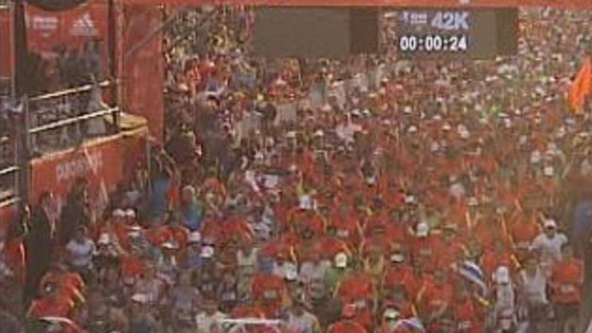 25 mil personas dieron vida al Maratón de Santiago