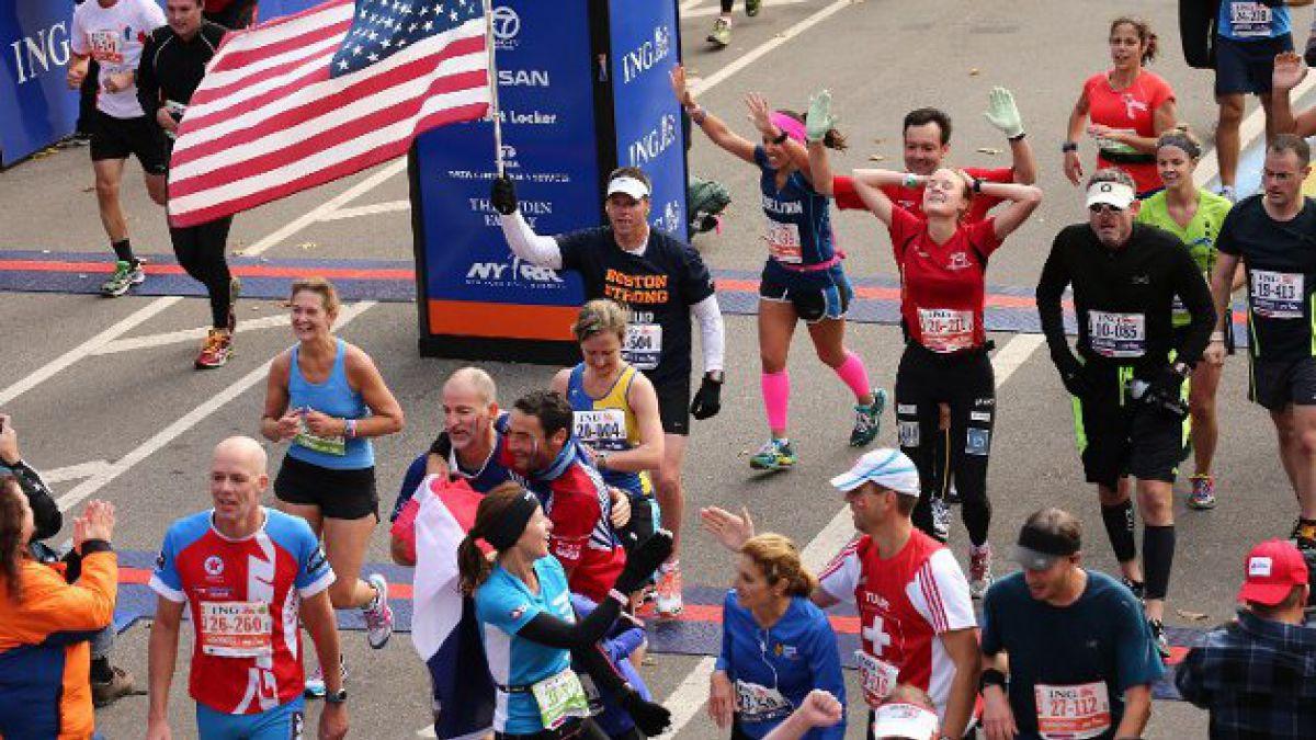 Murió corredora más anciana de última maratón de Nueva York