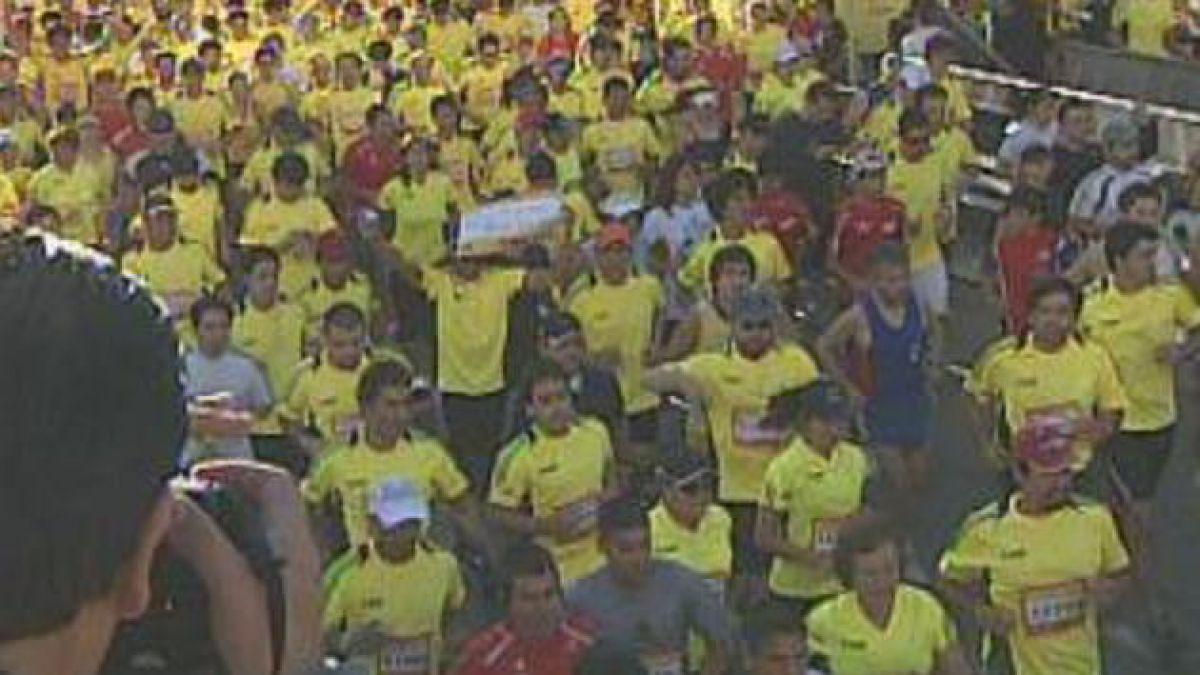 Este domingo se realiza la maratón de Santiago
