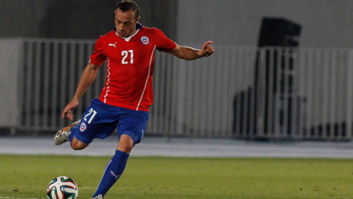 Marcelo Díaz es el jugador que más ha corrido en el Mundial