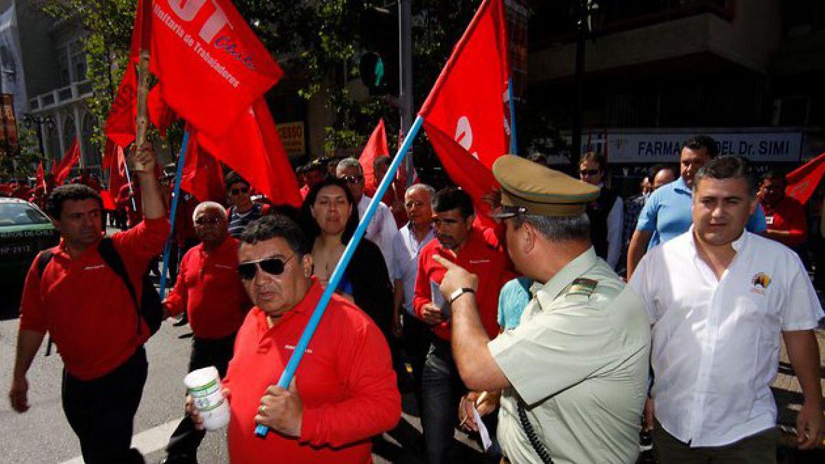 Definen recorrido de marcha del 1 de mayo en Santiago