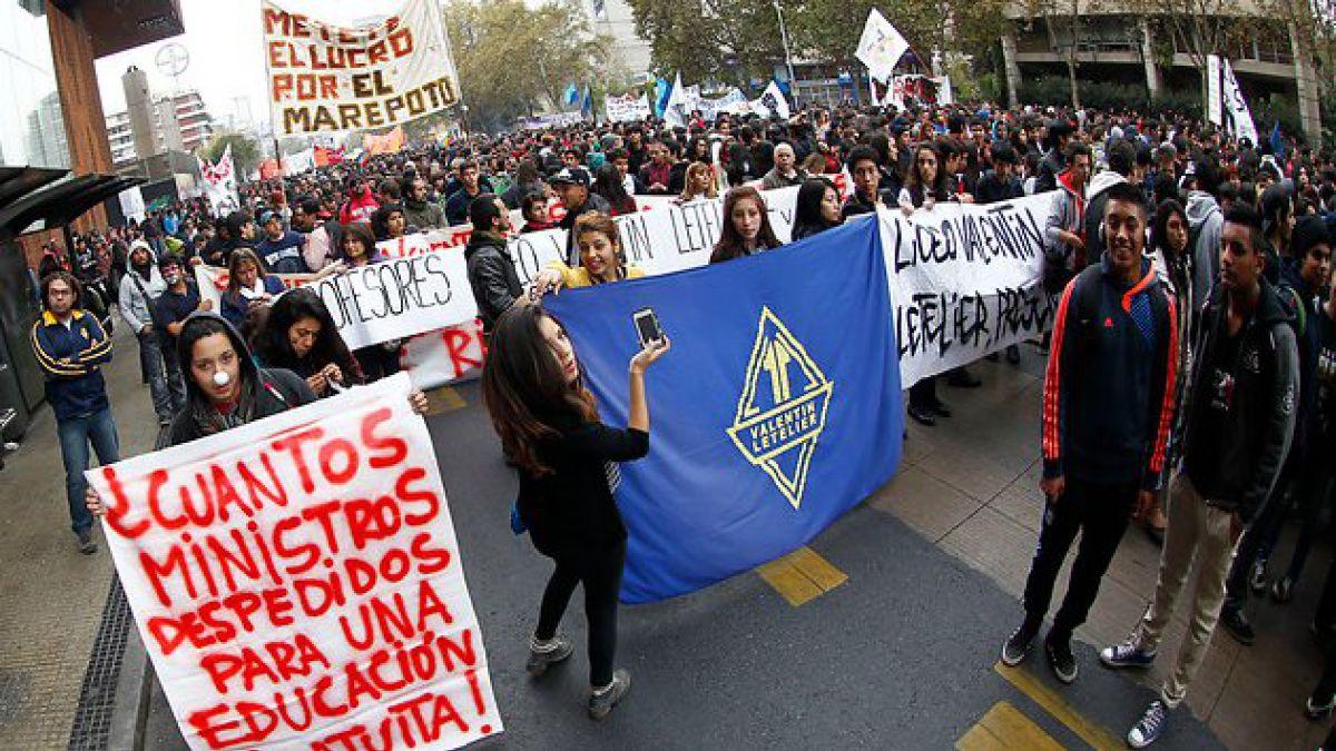 Más de 200 mil personas participaron en movilización nacional