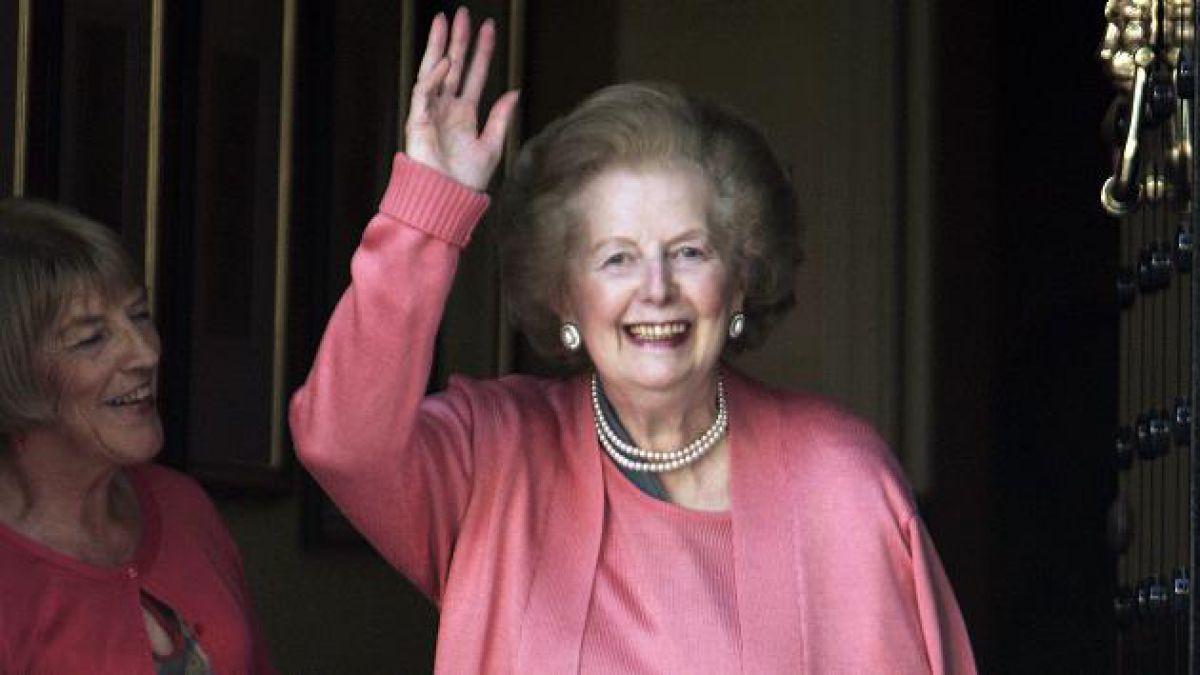 Margaret Thatcher aseguró que si pudiera volver atrás no sería política