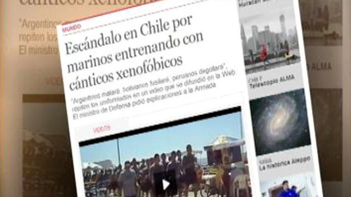 Video de marinos es criticado en medios internacionales