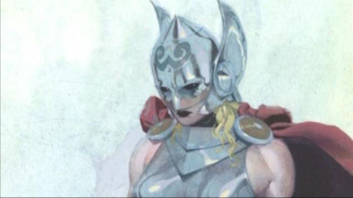 """Así será """"Thor"""": la nueva diosa del trueno de Marvel"""