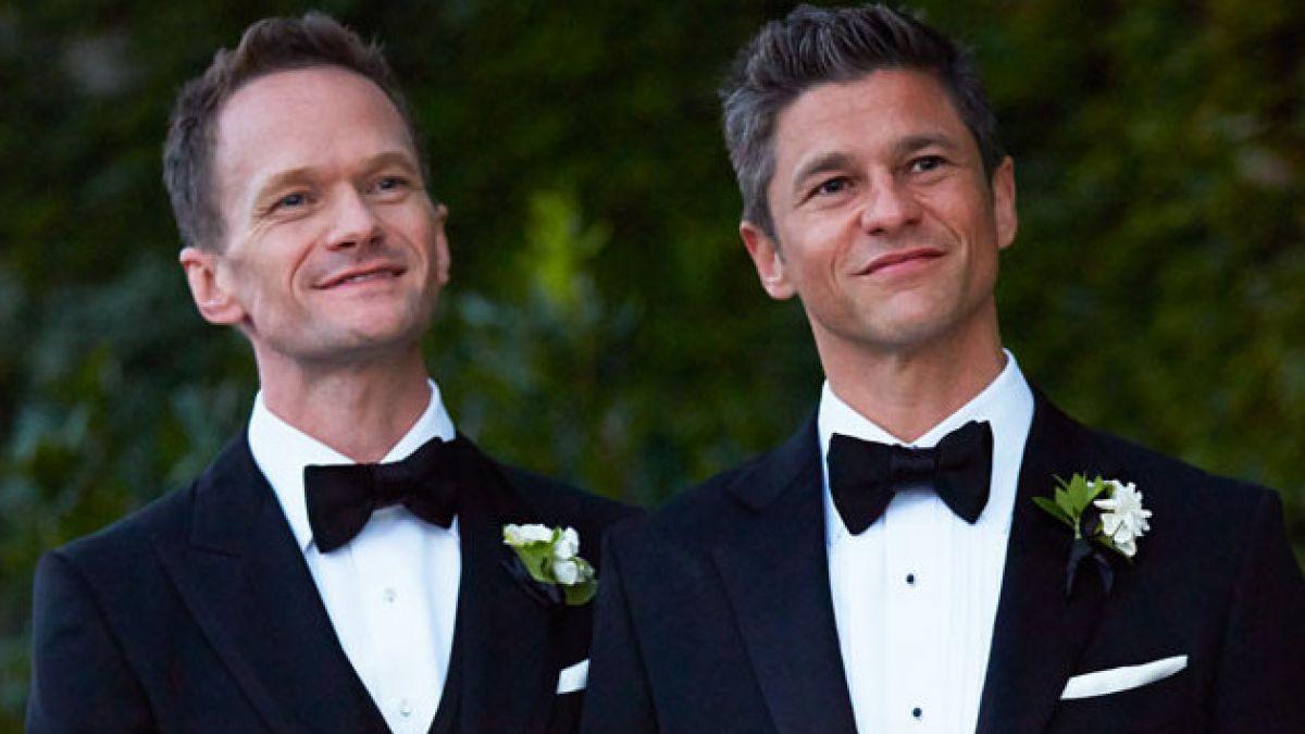 """Actor de """"How I Met Your Mother"""" se casa con su novio tras 10 años de relación"""