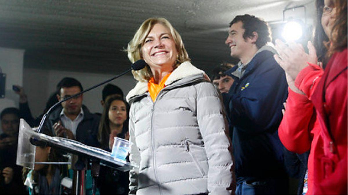 Evelyn Matthei se muestra dispuesta a realizar reforma tributaria