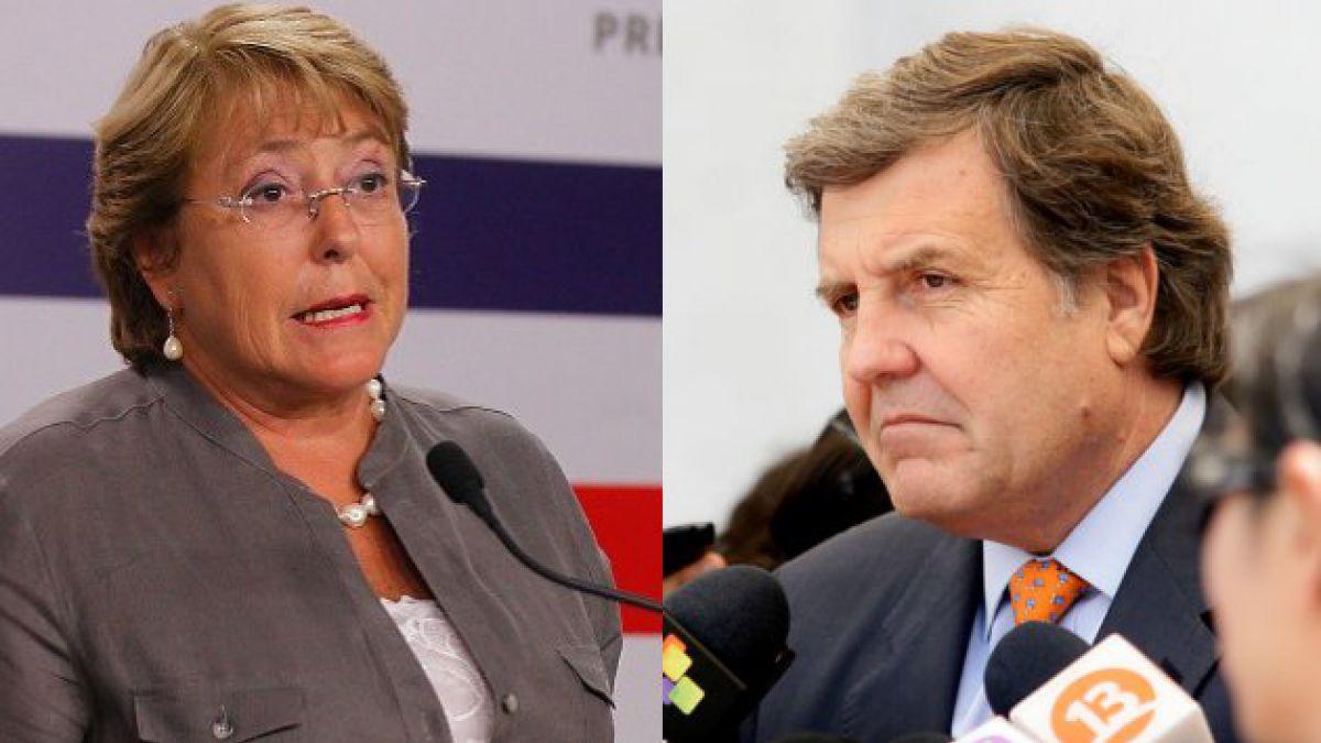 """Presidente de la UDI pide más """"autocrítica"""" a Bachelet por 27/F"""