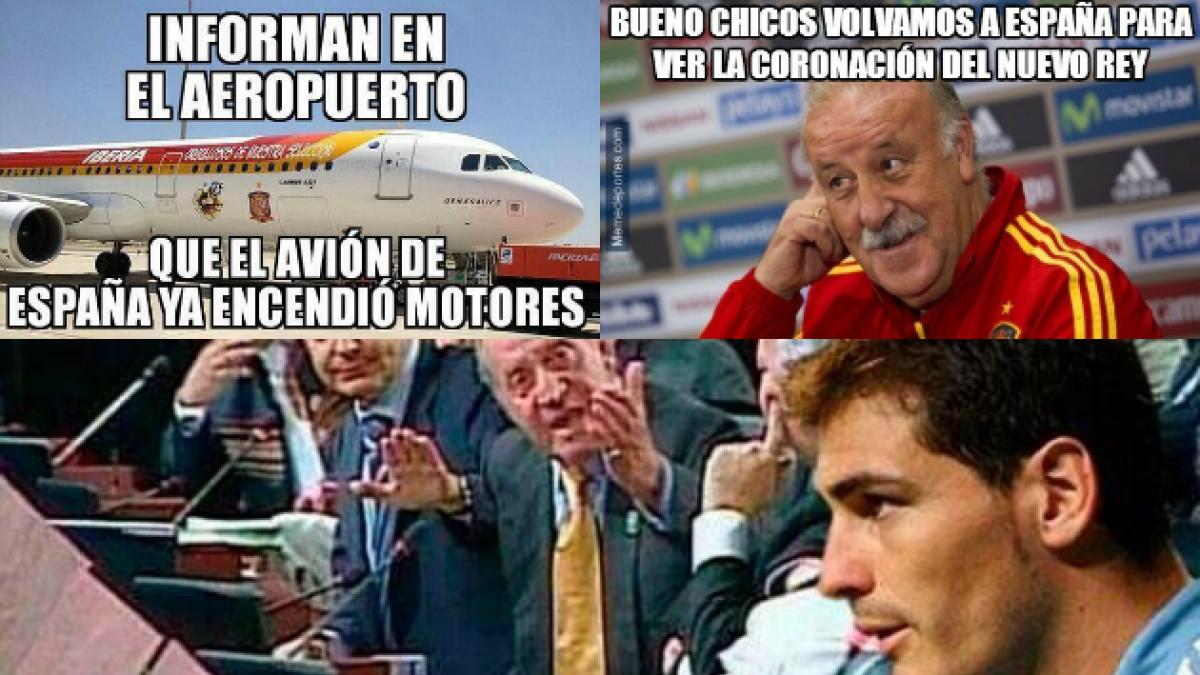 Estos son los mejores memes del histórico triunfo de Chile ante España