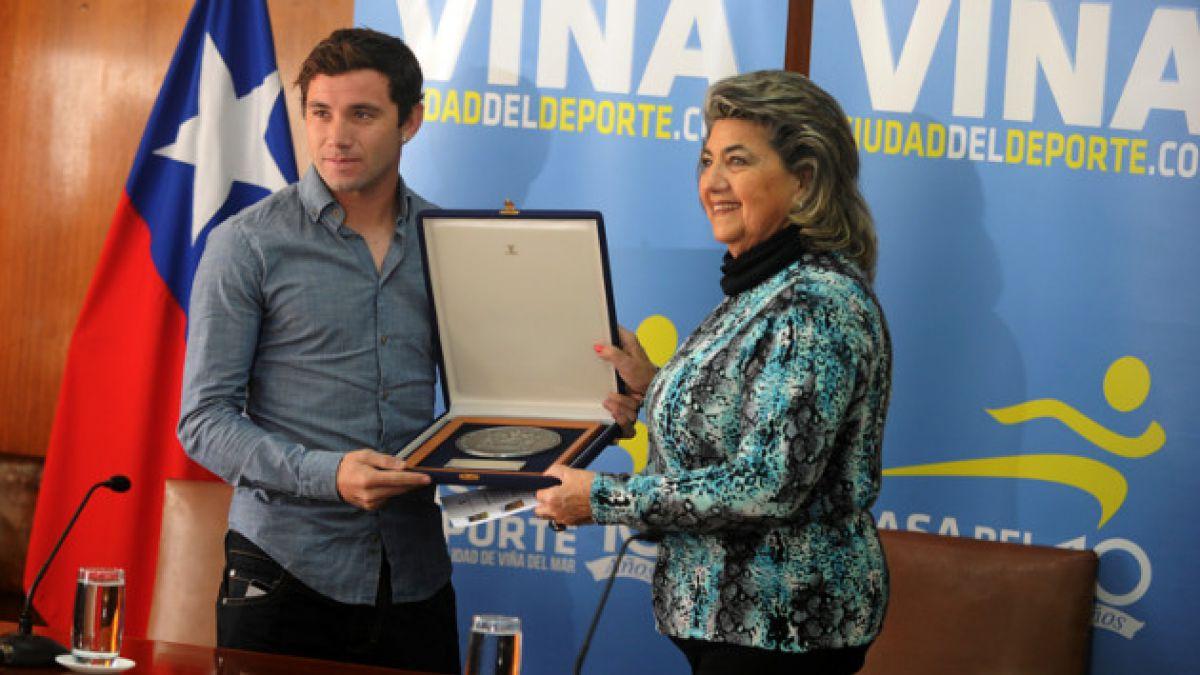 Eugenio Mena es declarado Hijo Ilustre de Viña del Mar