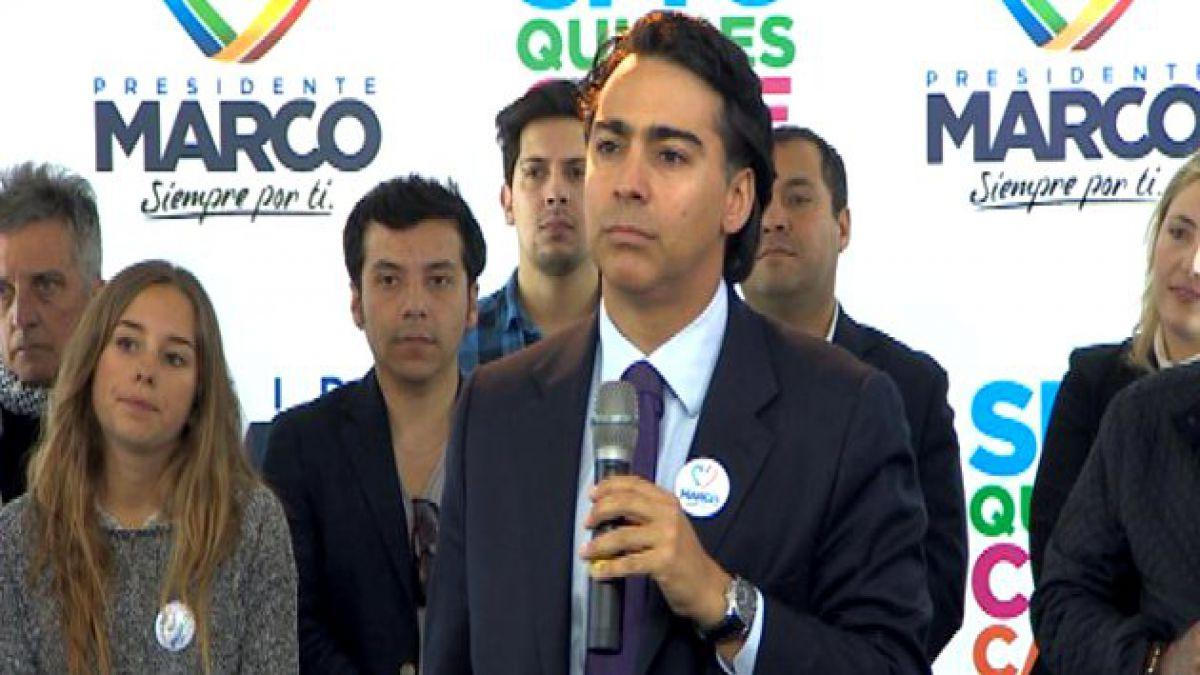 Enríquez-Ominami desestima resultados de la encuesta Ipsos