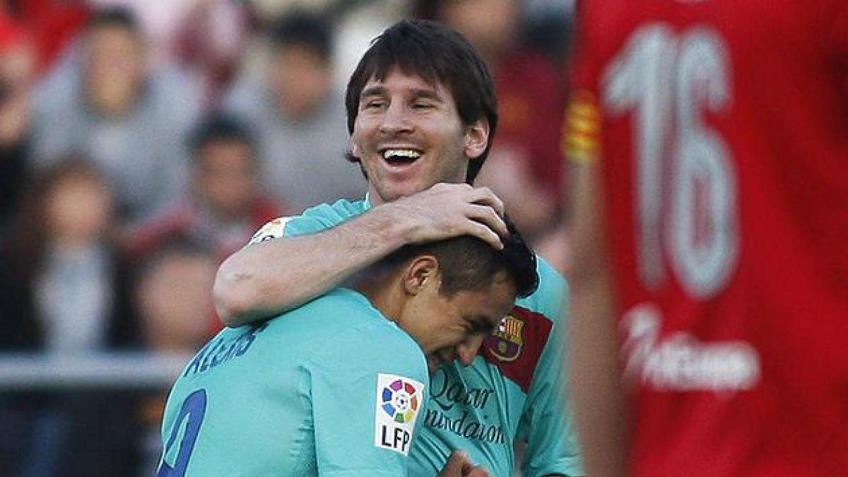 Hinchas de FC Barcelona prefieren a Sánchez por sobre Messi