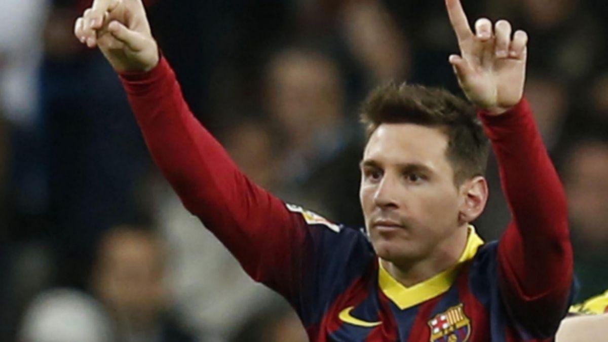 Barcelona quiere que Messi renueve su contrato hasta 2019