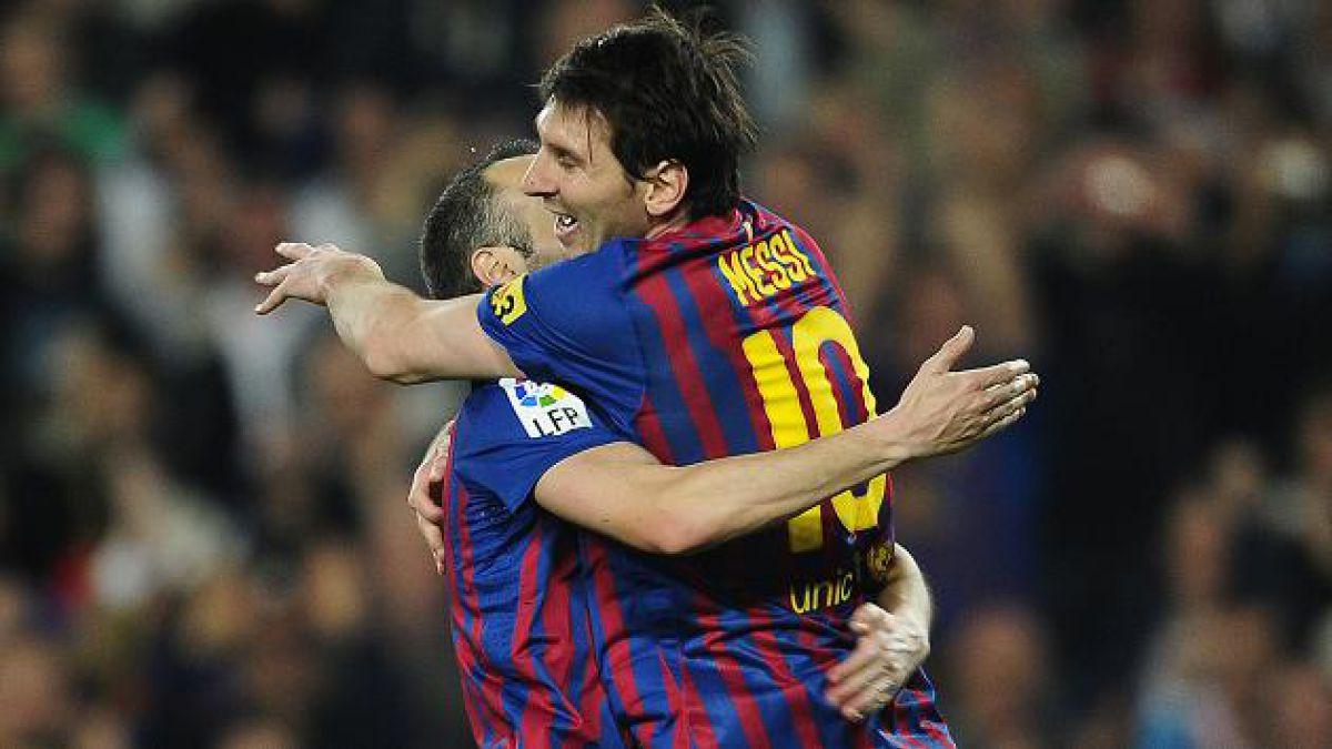 Barcelona derrotó por 2-0 al Athletic de Bilbao