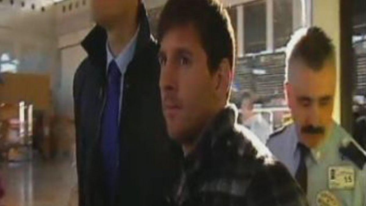 Messi renovó contrato con Barcelona hasta el 2018