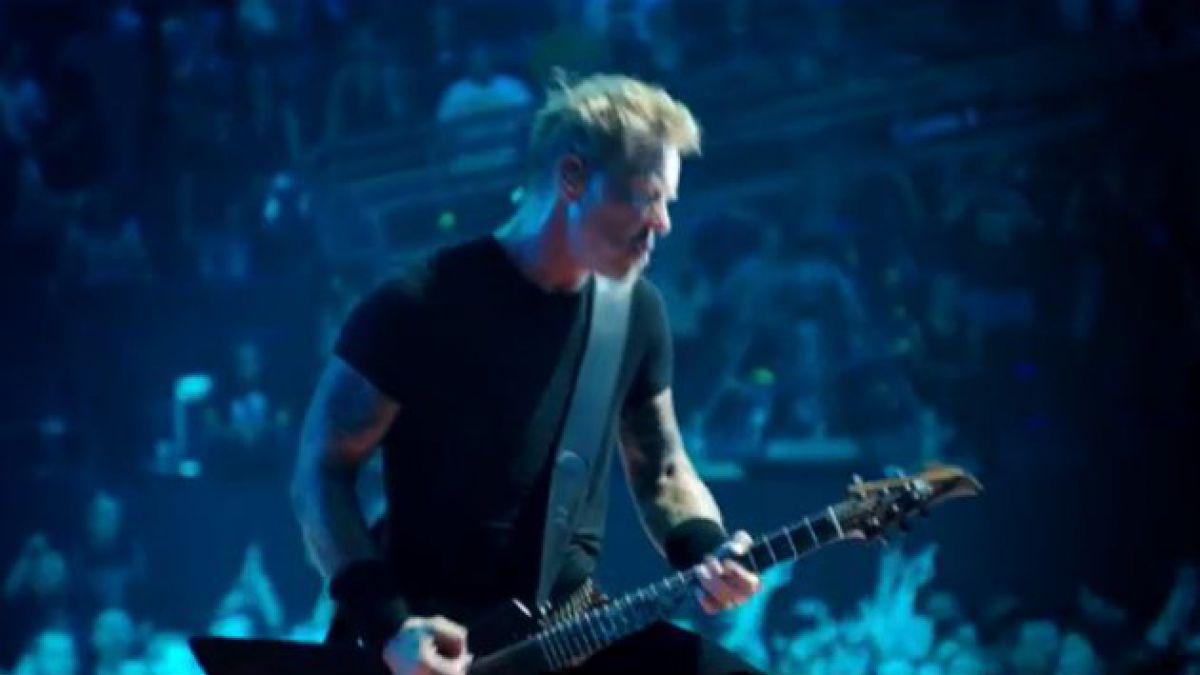 Comienza preventa para película de Metallica