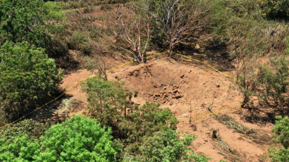 Caída de meteorito genera cráter de varios metros en Nicaragua