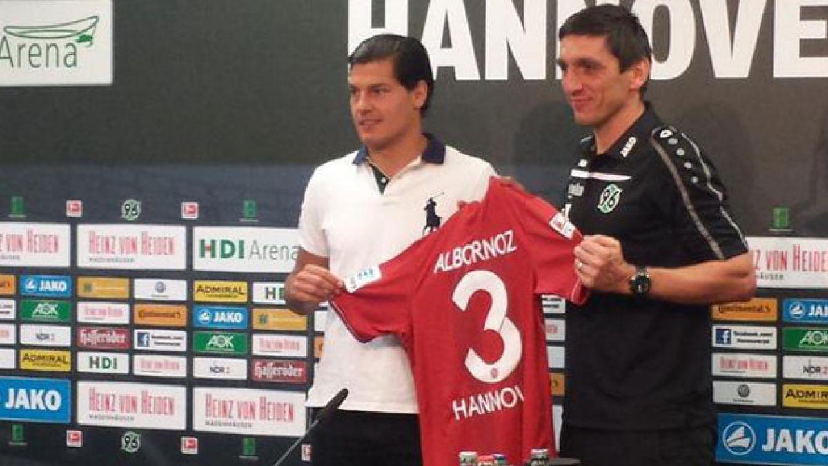 Hannover 96 presentó oficialmente a Miiko Albornoz como refuerzo
