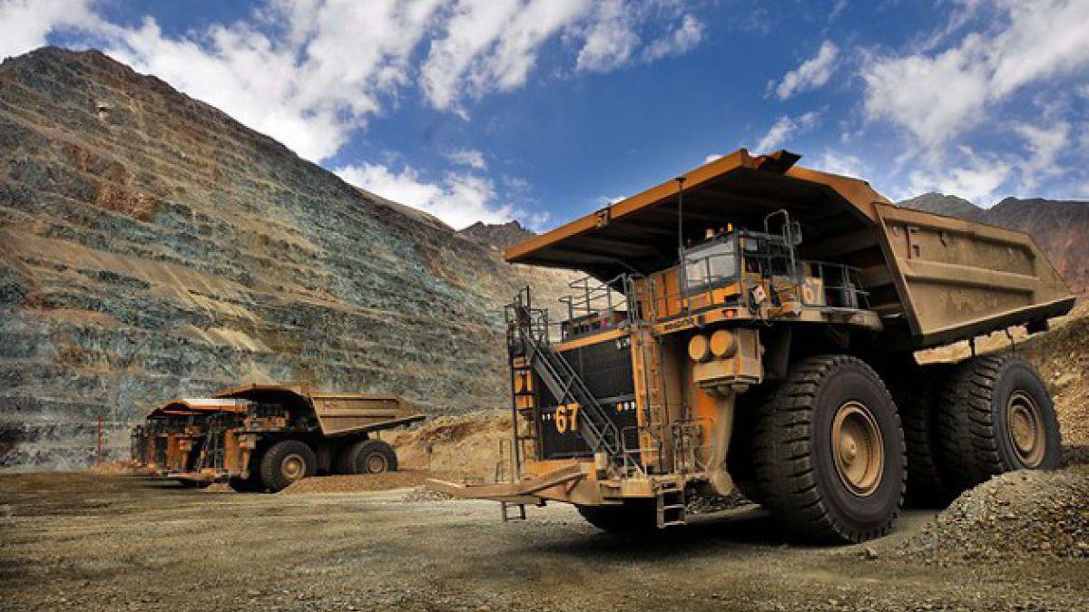 Producción minera creció 5,9% en agosto