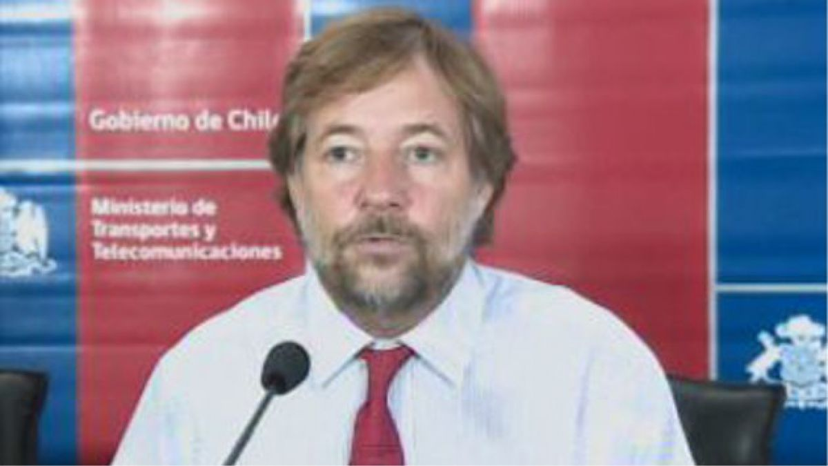 Ministro de Transportes dijo que evasión es un robo para las empresas