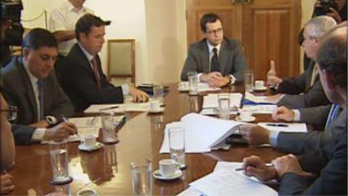 Ministros se reúnen a analizar medidas para Aysén