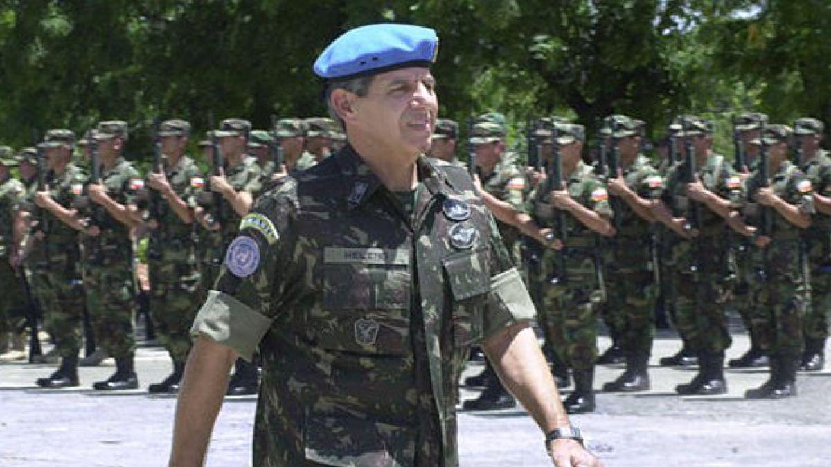 ONU designa a general brasileño al frente de su misión militar en Haití