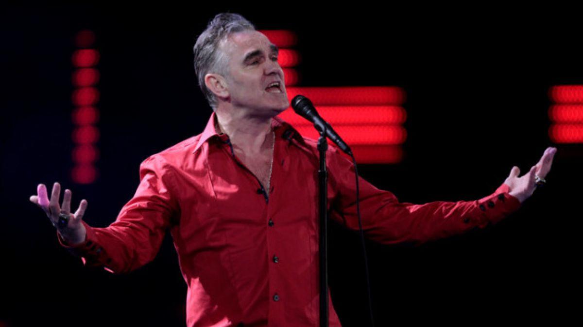 """Morrissey por su estado de salud: """"Si me muero, me muero"""""""