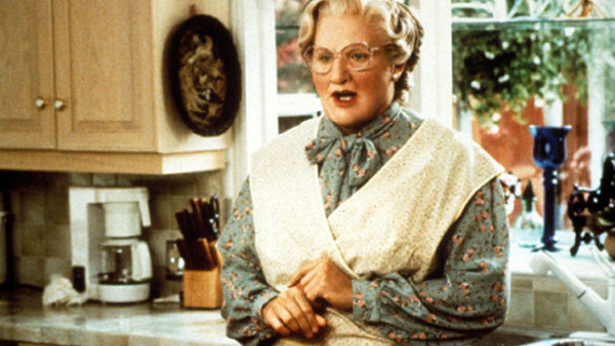 """""""Mrs. Doubtfire"""" tendrá secuela más de 20 años después de su estreno"""