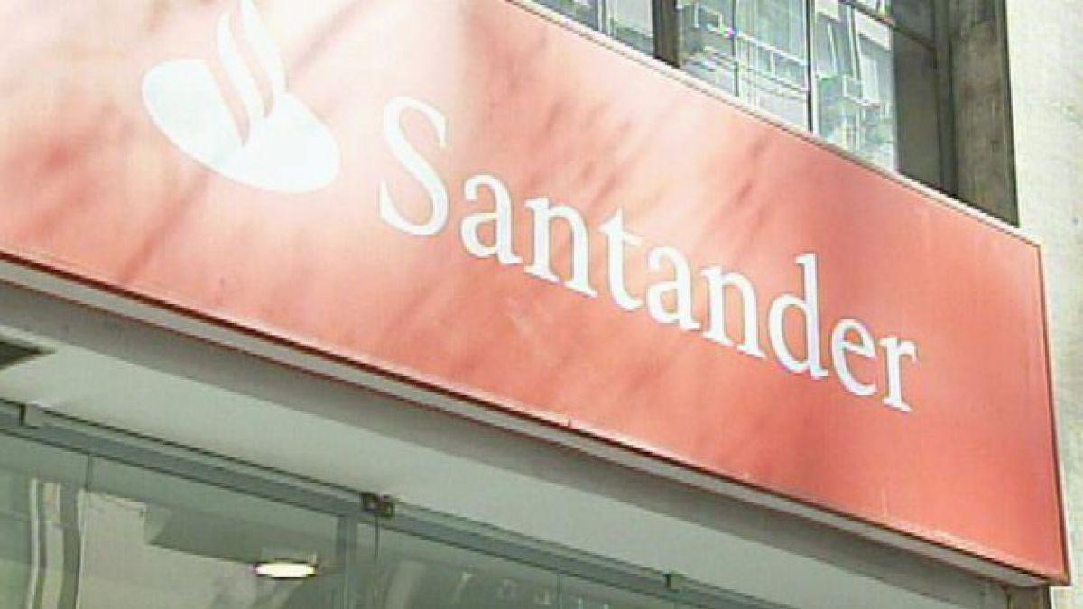 Los beneficios del banco español Santander caen un 4,9% en el primer trimestre