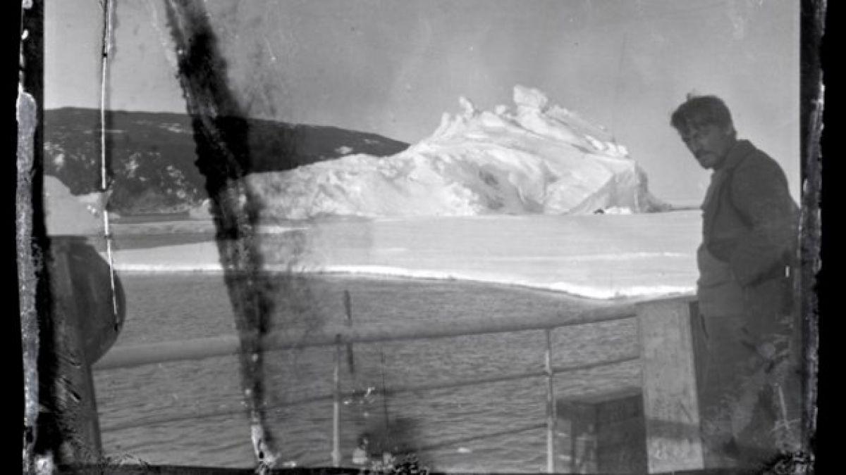 Encuentran en la Antártica negativos congelados de hace 100 años