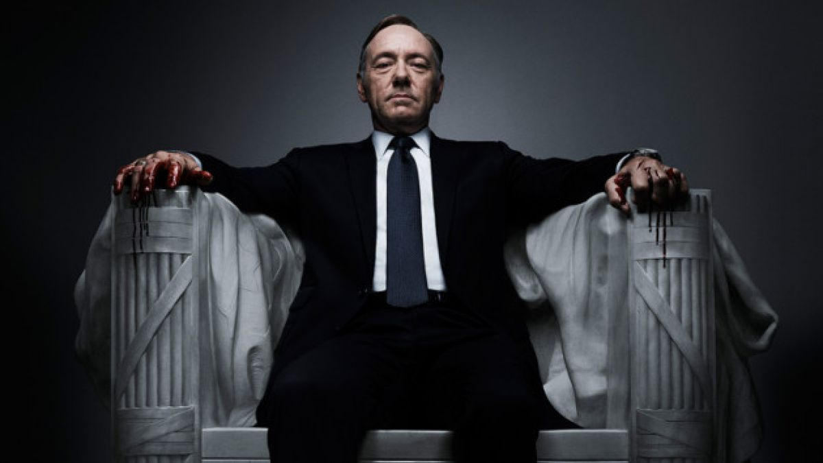 "Kevin Spacey era el protagonista de ""House of cards"""
