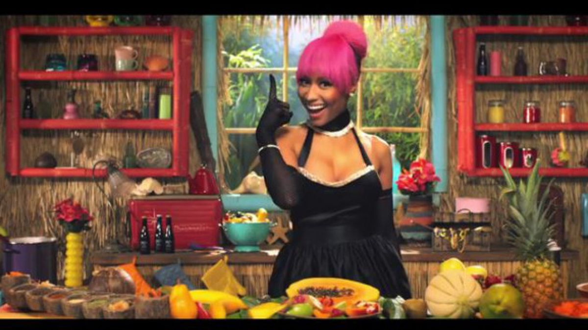 "Nicki Minaj por su video 'Anaconda': ""No creo que sea sexy o loco"""