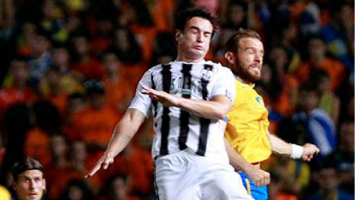 Nicolás Canales anotó golazo en Azerbaiyán
