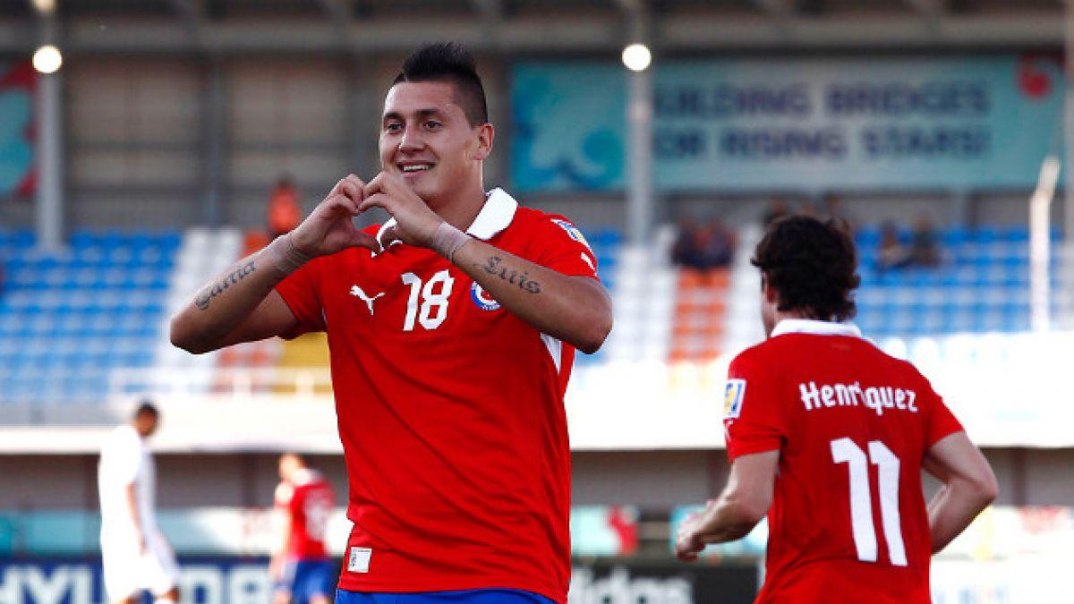 Nicolás Castillo estaría en la mira de Valencia CF