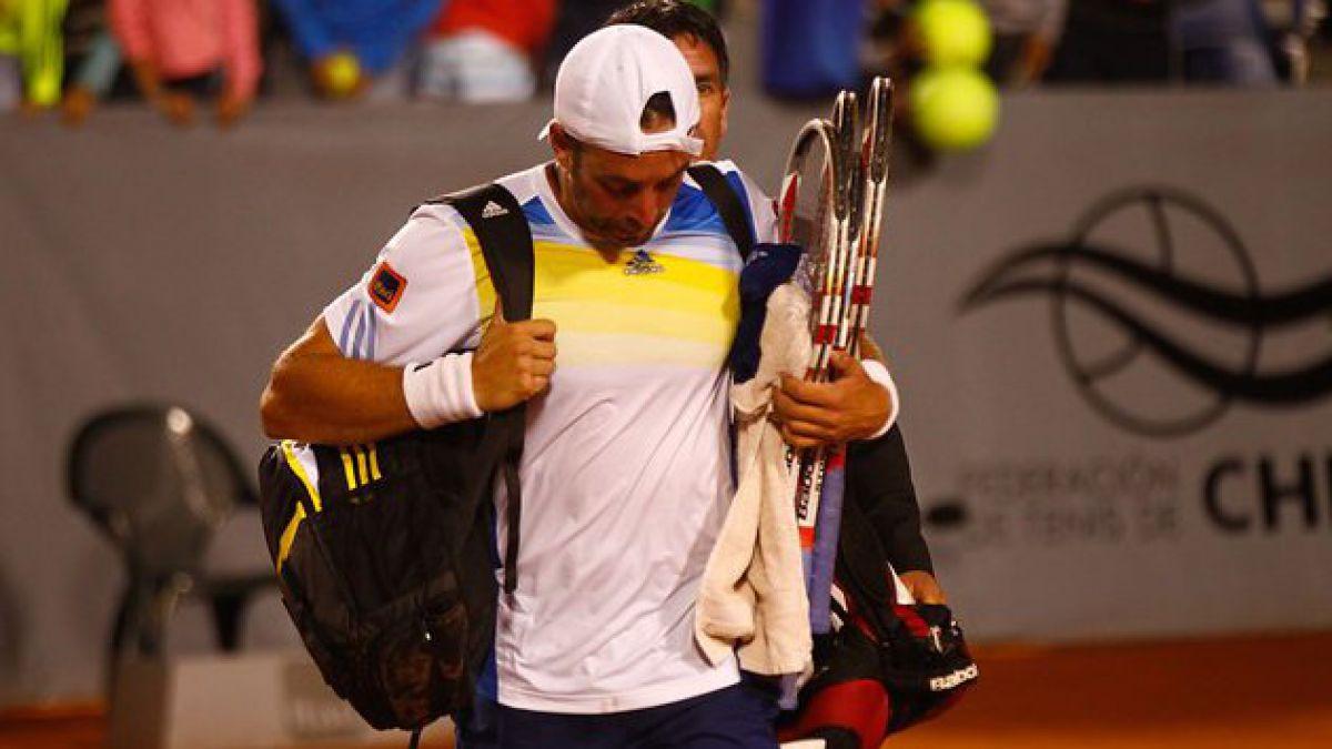 Nicolás Massú se despidió del ATP de Viña del Mar