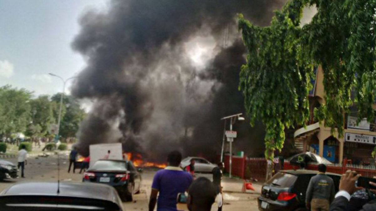 Nigeria: Atentado afecta a un centro comercial a minutos del duelo ante Argentina