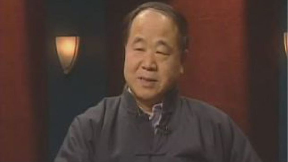 Escritor Mo Yan obtiene Premio Nobel de Literatura