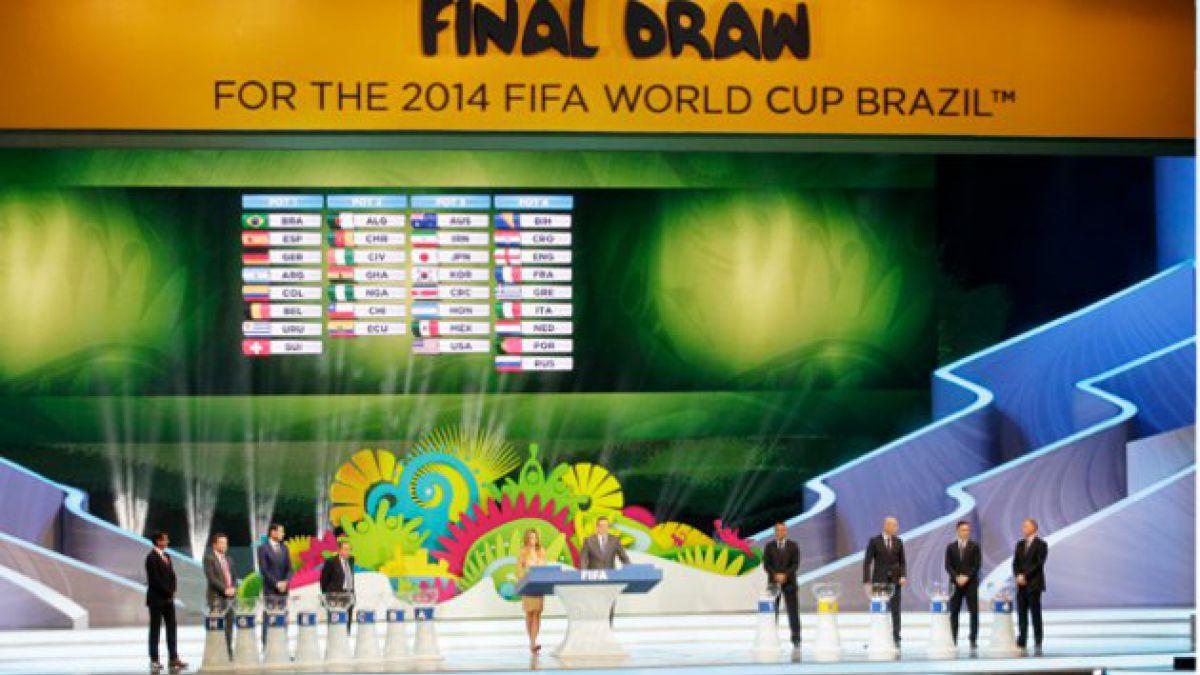 Brasil 2014: Así quedaron los ocho grupos del Mundial tras el sorteo